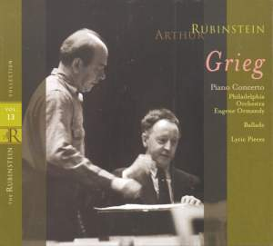 Rubinstein Collection, Vol. 13: Grieg: Piano Works