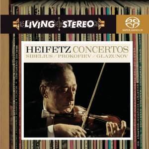 Sibelius, Prokofiev & Glazunov: Violin Concertos