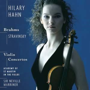 Stravinsky & Brahms: Violin Concertos