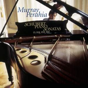 Murray Perahia plays Schubert Piano Sonatas