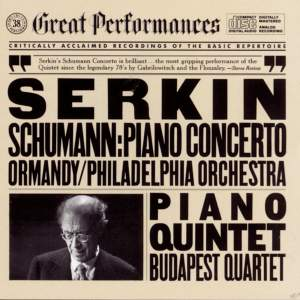 Schumann: Piano Concerto and Piano Quintet Product Image