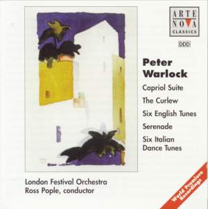 Warlock: Capriol Suite/The Curlew/6 Italian Dances/6 English Tunes