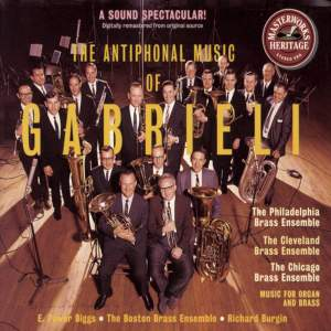 The Antiphonal Music of Gabrieli & Frescobaldi