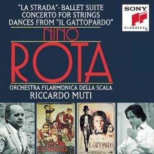 Rota: La Strada ballet suite, Concerto for strings & Il Gattopardo