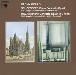 Volume 14 of the Glenn Gould Complete Jacket Collection