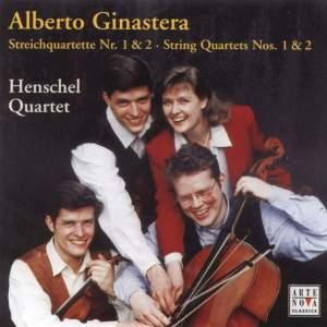 Ginastera: String Quartets Nos. 1 & 2