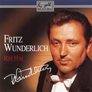 Fritz Wunderlich in Recital
