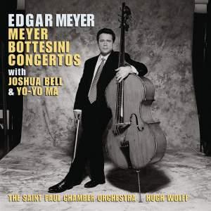 Meyer, E: Double concerto for Cello and Double bass, etc.