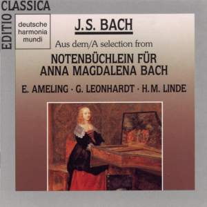 JS Bach: A Selection from Notenbüchlein für Anna Magdalena