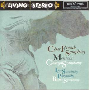 Franck, C: Symphony in D minor, etc.