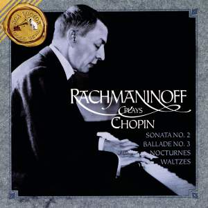 Rachmaninoff plays Chopin Product Image