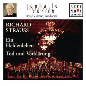 Richard Strauss: Ein Heldenleben & Tod und Verklarung Product Image
