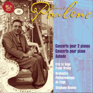 Poulenc: Concerto in D minor for Two Pianos & Orchestra, etc. Product Image