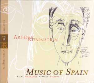 Rubinstein Collection, Vol. 18: Music Of Spain: Works by Falla, Granados, Albéniz, Mompou