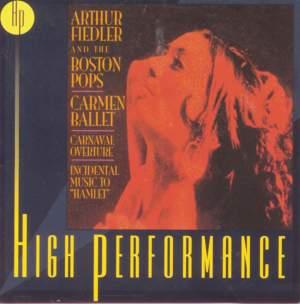 Carmen Ballet, Carnaval Overture, Incidental Music To 'Hamlet'