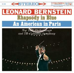 "Gershwin : Rhapsody in Blue - An American in Paris - Bernstein : Symphonic Dances from ""West Side Story"" - Symphonic Suite from ""On the Waterfront"""