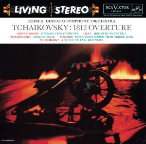 Tchaikovsky: Overture Solennelle 1812 & Marche slave
