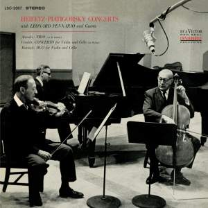 Arensky: Piano Trio No. 1, Vivaldi: Concerto, RV 547 & Martinu: Duo for Violin and Cello