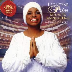 Leontyne Price - Return to Carnegie Hall