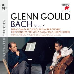 Glenn Gould plays Bach: 6 Sonatas for Violin & Harpsichord & 3 Sonatas for Viola da gamba & Harpsichord