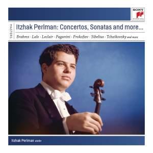 Itzhak Perlman: Concertos, Sonatas and more…