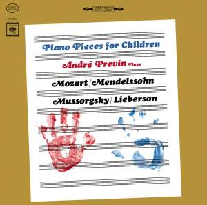 André Previn: Piano Pieces for Children
