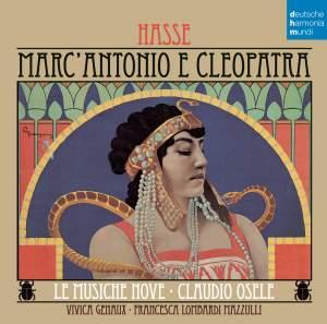 Hasse, J A: Marc' Antonio e Cleopatra Product Image