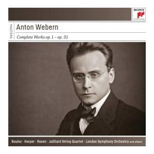 Pierre Boulez….conducts Anton Webern Complete Works