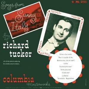 Richard Tucker - Songs from Sunny Italy