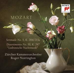 Mozart: Serenade No. 5 & Divertimento No. 10