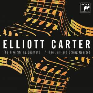 Elliott Carter: The Five String Quartets Product Image