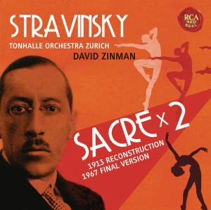 Stravinsky: Sacre (Orig. Vers. 1913, Rev. Vers. 1967)