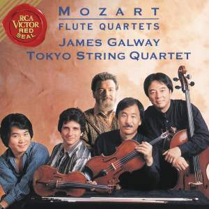 James Galway and Tokyo String Quartet Play Mozart Flute Concertos