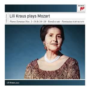 Lili Kraus plays Mozart Sonatas