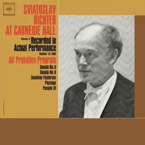 Sviatoslav Richter Live at Carnegie Hall: All Prokofiev Program (October 23, 1960)