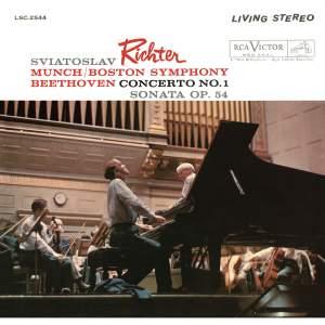Beethoven: Concerto No. 1, Op. 15 & Sonata No. 22, Op. 54
