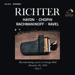 Sviatoslav Richter Plays Haydn, Chopin, Rachmaninov & Ravel