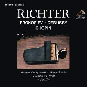 Sviatoslav Richter Plays Haydn, Chopin, Rachmaninoff, Ravel - Live at Carnegie Hall (December 26, 1960)