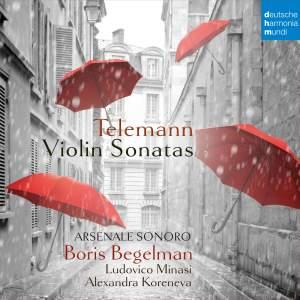 Telemann: Violin Sonatas Product Image