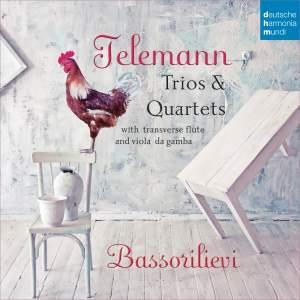 Telemann: Trios & Quartets with Transverse Flute & Viola da Gamba