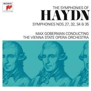 Haydn: Symphonies Nos. 27, 32, 34 & 35