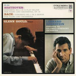 Beethoven: Piano Concerto No. 2 in B-Flat Major, Op. 19 - Bach: Keyboard Concerto No. 1 in D Minor, BWV 1052 - Gould Remastered