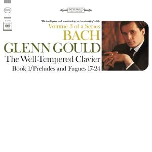 Bach, The Well Tempered Clavier, Book I, Preludes and Fugues Nos. 1-8, BWV 846-853, Gould Remastered