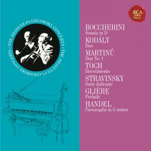 Heifetz and Piatigorksy: The Duo Collection - Heifetz Remastered