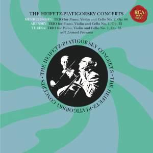 The Piano Trio Collection - Mendelssohn, Arensky & Turina