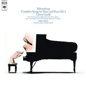 Schoenberg, Complete Songs, Vol. 2, Gould Remastered