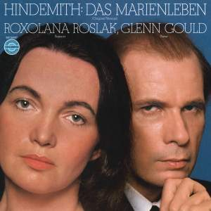 Hindemith: Das Marienleben for Soprano & Piano, Op. 27 Product Image