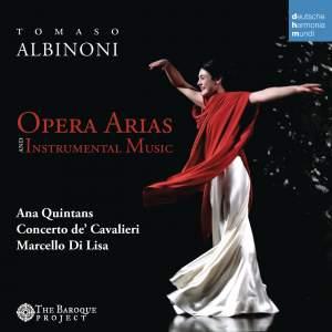 Albinoni: Opera Arias & Instrumental Music Product Image