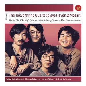 The Tokyo String Quartet plays Haydn & Mozart Product Image
