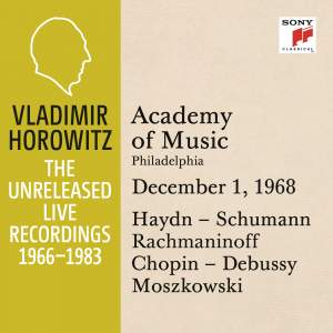 Vladimir Horowitz in Recital at Academy of Music, Philadelphia, December 1, 1968